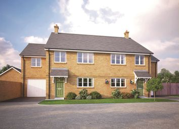 Thumbnail 4 bedroom semi-detached house for sale in March Road, Wimblington, March