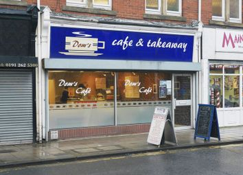 Thumbnail Restaurant/cafe for sale in Dom's Cafe & Takeaway, 18 High Street East, Wallsend