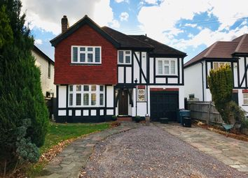 Thumbnail 4 bed detached house for sale in Wood Lodge Lane, West Wickham