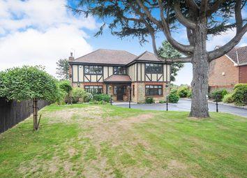 Thumbnail 4 bed detached house for sale in London Road, West Kingsdown, Sevenoaks