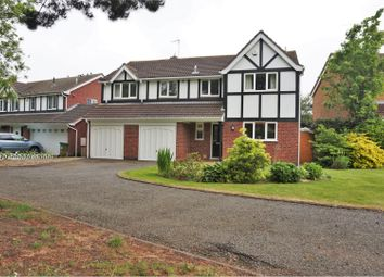 Thumbnail 5 bed detached house for sale in Kestrel Close, Leicester Forest East