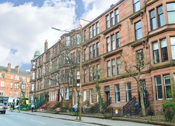 Thumbnail 3 bed flat for sale in Clarence Drive, Glasgow