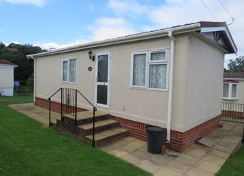 Thumbnail 1 bed mobile/park home for sale in Goodrington Orchard, Hookhills Road, Paignton