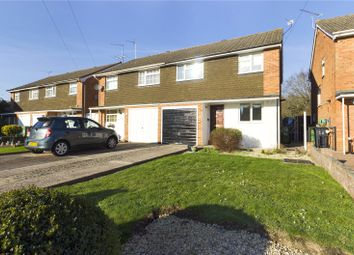 Thumbnail 3 bed semi-detached house for sale in Grantham Road, Reading, Berkshire
