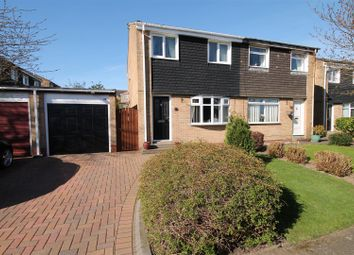 Thumbnail 3 bed semi-detached house for sale in Deerness Heights, Brandon, Durham
