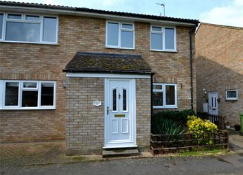 Thumbnail 3 bedroom semi-detached house to rent in Gordon Close, Little Paxton, St Neots, Cambridgeshire