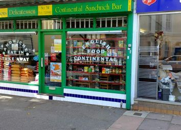 Thumbnail Retail premises for sale in Pevensey Road, Eastbourne