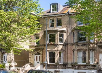 Thumbnail 3 bed flat for sale in Norton Road, Hove, East Sussex