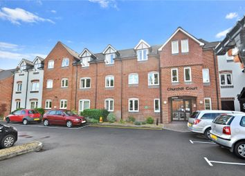 Thumbnail 1 bed flat for sale in Churchill Court, Kelham Gardens, Marlborough, Wiltshire
