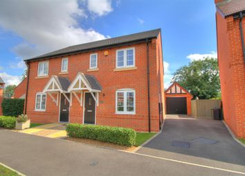 Thumbnail 3 bed semi-detached house for sale in Frearson Road, Hugglescote, Coalville
