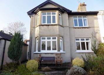 Thumbnail 3 bed semi-detached house for sale in West Road, Bridgend