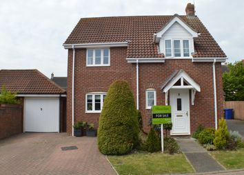 Thumbnail 3 bed detached house for sale in Seymour Drive, Haverhill