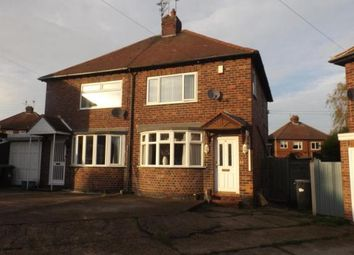 Thumbnail 2 bedroom semi-detached house for sale in Coates Avenue, Hucknall, Nottingham, Nottinghamshire