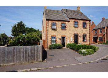 Thumbnail 3 bed semi-detached house for sale in Bosgate Close, Bozeat