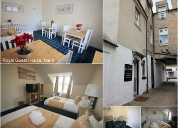 Thumbnail Hotel/guest house for sale in Royal Guest House, Belivat Terrace, Nairn