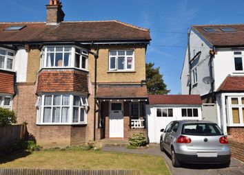 Thumbnail 3 bed semi-detached house to rent in Cranmer Road, Hampton Hill