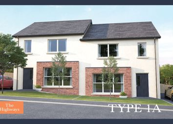 Thumbnail 3 bedroom semi-detached house for sale in The Highways, Ballyhampton Road, Larne