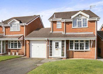Thumbnail 3 bed detached house for sale in Leasowe Drive, Perton, Wolverhampton