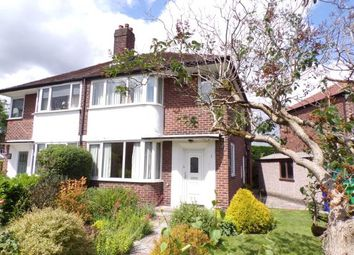 Thumbnail 4 bed semi-detached house for sale in Lynway Drive, Didsbury, Manchester