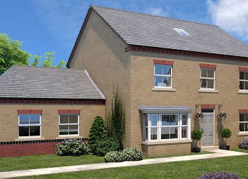 Thumbnail 5 bed detached house for sale in Plot 4, The Harewood, Elmete Lane, Leeds