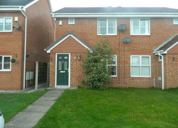 Thumbnail 2 bedroom semi-detached house to rent in Merefield Close, Hindley, Wigan