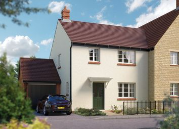 "Thumbnail 3 bed semi-detached house for sale in ""The Guilsborough"" at Towcester Road, Silverstone, Towcester"