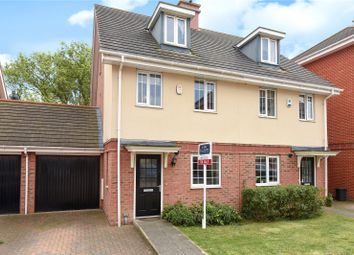 Thumbnail 3 bed semi-detached house for sale in Coleridge Drive, Ruislip, Middlesex