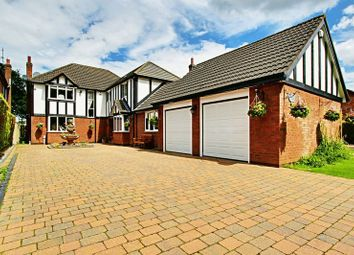 Thumbnail 5 bedroom detached house for sale in The Woodlands, Cottingham