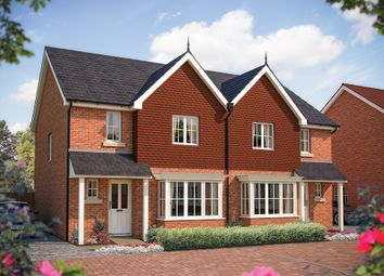 "Thumbnail 3 bed semi-detached house for sale in ""The Clifton"" at Foxhall Road, Ipswich"