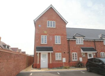 Thumbnail 4 bed end terrace house for sale in Corporal Close, Colchester
