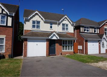 Thumbnail 4 bed detached house for sale in Haskell Close, Leicester