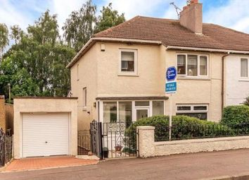 Thumbnail 3 bed semi-detached house for sale in Whitton Drive, Giffnock, Glasgow