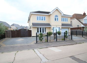 Thumbnail 5 bed detached house for sale in Main Road, Tower Park, Hullbridge, Hockley