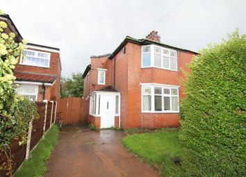 Thumbnail 2 bed semi-detached house to rent in Balmoral Avenue, Stretford, Manchester