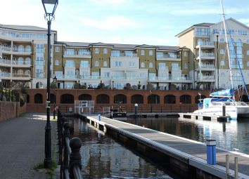 Thumbnail 3 bed flat for sale in Hamilton Quay, Sovereign Harbour, Eastbourne