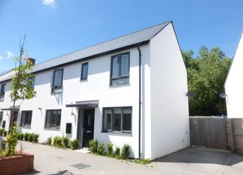 Thumbnail 3 bed property to rent in Milbury Farm Meadow, Exminster, Exeter