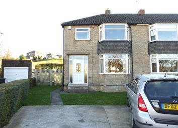 Thumbnail 3 bed semi-detached house to rent in Longford Close, Bradway, Sheffield
