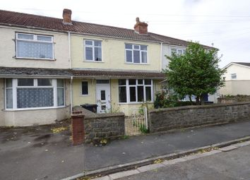 Thumbnail 3 bed terraced house for sale in Whitting Road, Weston-Super-Mare
