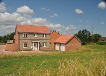 Thumbnail 4 bed detached house to rent in Shutewater Orchard, Bishops Hull, Taunton