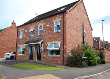 Thumbnail 3 bed semi-detached house for sale in Canberra View, Barton-Upon-Humber, North Lincolnshire