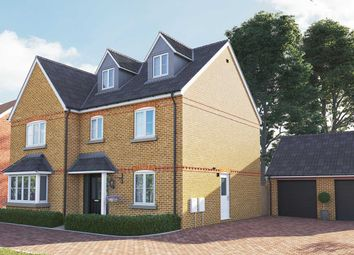 "Thumbnail 5 bed detached house for sale in ""The Collcutt"" at Newmarket Road, Royston"