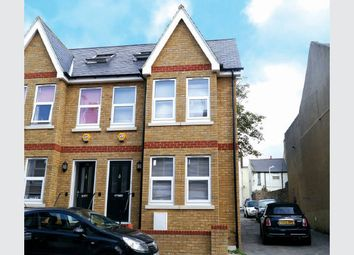 Thumbnail 3 bed semi-detached house for sale in Dane Hill Row, Margate