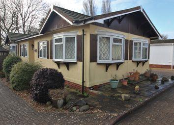 Thumbnail 2 bed mobile/park home for sale in Eleanors Wood, Upper Cornaway Lane, Fareham