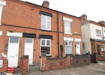 Thumbnail 2 bed terraced house for sale in Newport Street, Leicester