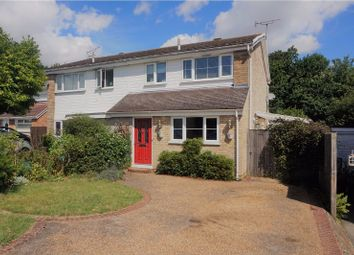 Thumbnail 3 bed semi-detached house for sale in Woodstock Way, Ashford