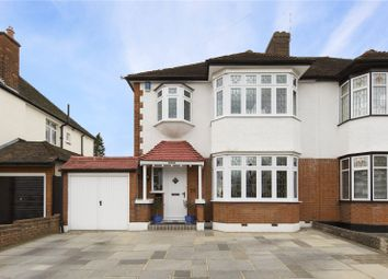 Thumbnail 3 bed property for sale in Parkland Avenue, Upminster