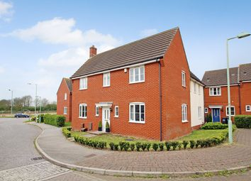 Thumbnail Detached house for sale in Cormorant Drive, Stowmarket