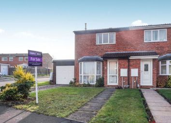 Thumbnail 2 bed semi-detached house for sale in Bisset Crescent, Leamington Spa