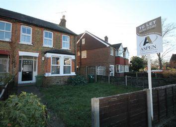 Thumbnail 2 bedroom maisonette to rent in Woodthorpe Road, Ashford, Surrey