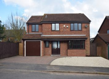 Thumbnail 4 bed detached house for sale in Cheltenham Drive, Ashby De La Zouch